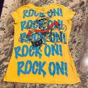 MUPPETS ROCK ON TEE TSHIRT XXL/19 JUNIOR